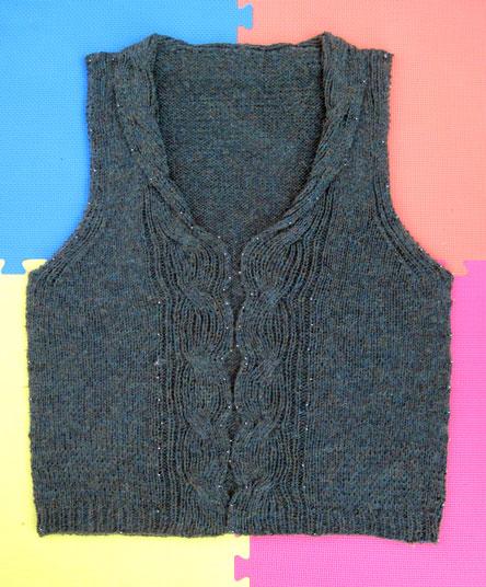 Melissa's vest