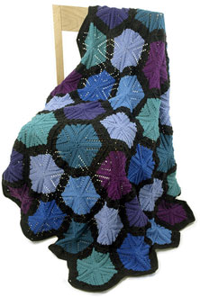 hexagonal throw