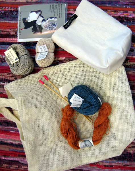 Hemp knitting kit from Article Pract