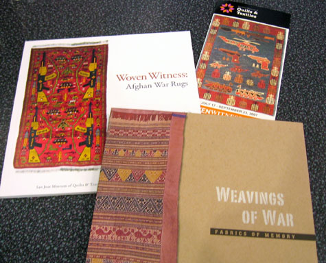 Literature from the Quilt and Textile Museum