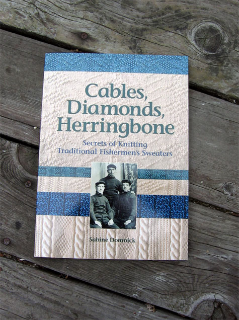 Cables, diamonds and herringbone