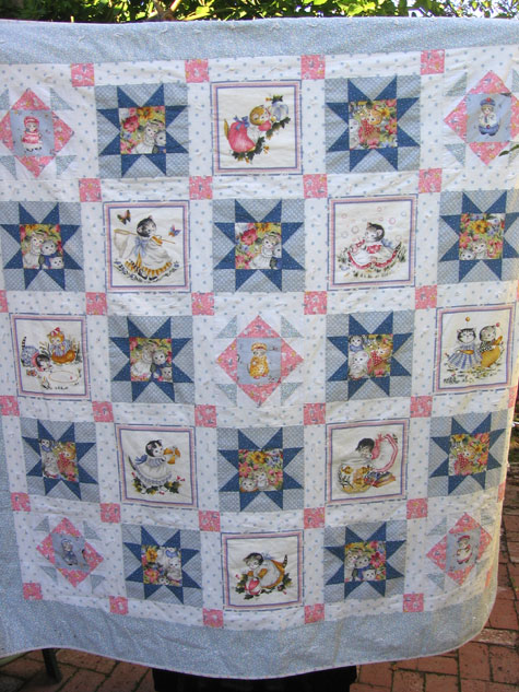 The first quilt