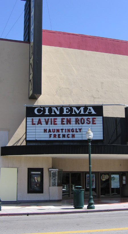 Movie marquee creators with too much time on their hands.