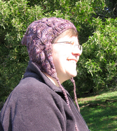 Melissa models the Urban Trekker hat