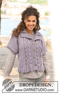 bulky cable cardi