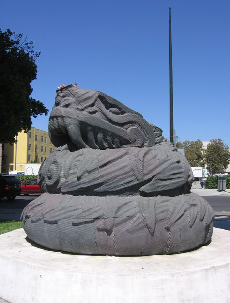 The feathered serpent of San Jose