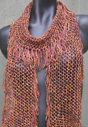 River of Gold scarf