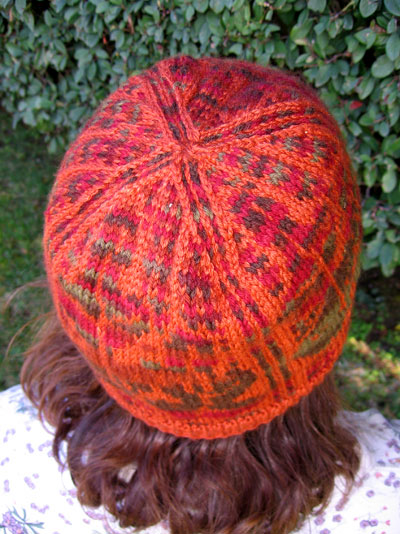 Semi-Norwegian oak leaf hat