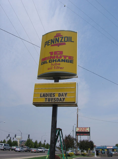 Living large in Medford: Ladies Day at Pennzoil