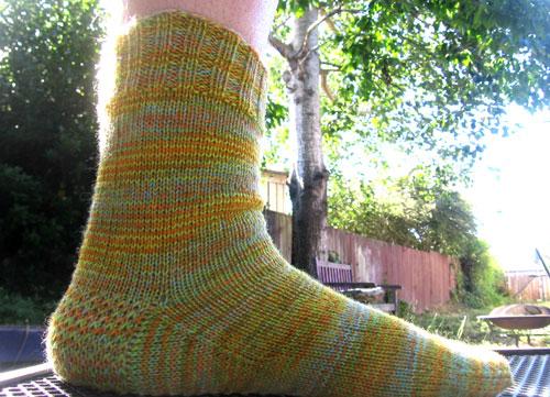 Melissa's socks
