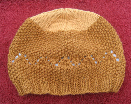 Two-tone brown Tamalpais Hat.