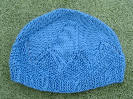 Blue Tamalpais Hat.