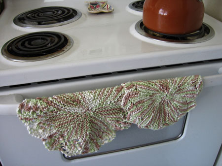 These washcloths are hot stuff.
